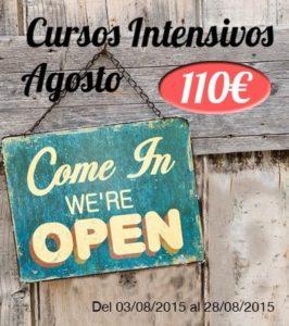 Lee más sobre el artículo Cursos Intensivos de Inglés en Valencia también en Agosto