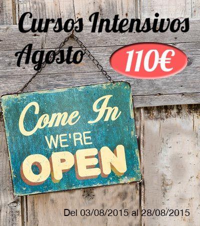 En este momento estás viendo Cursos Intensivos de Inglés en Valencia también en Agosto